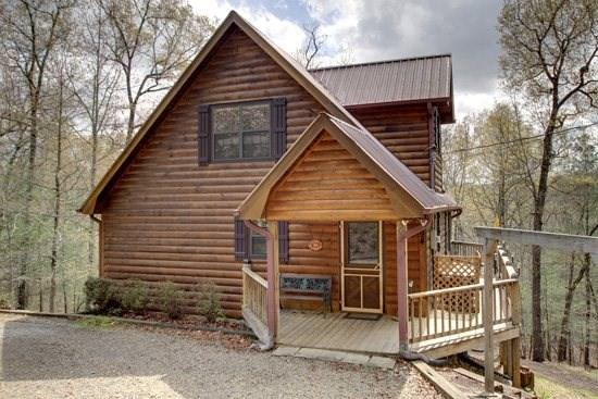 CRIMSON BEAR MOUNTAIN- 3BR/3BA- SECLUDED CABIN SLEEPS 6, PET FRIENDLY, POOL TABLE, HOT TUB, GAS GRILL, FIRE PIT, SATELLITE TV, AND WIFI! ONLY $125 A NIGHT! - Image 1 - Blue Ridge - rentals