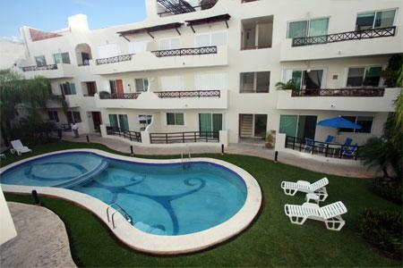 Margaritas II - Pool Side Condo with Private Patio- Luna Enamorada - Playa del Carmen - rentals