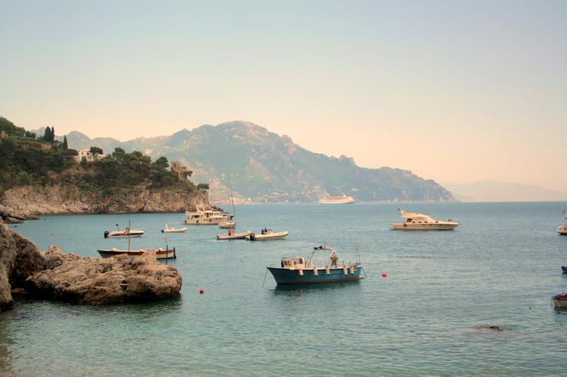 View from the windows - Casa della Marina - Amalfi Coast - Conca dei Marini - rentals