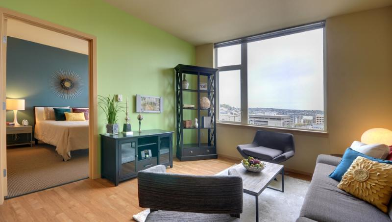 Living Room - Alley 24 #506 - Seattle - rentals