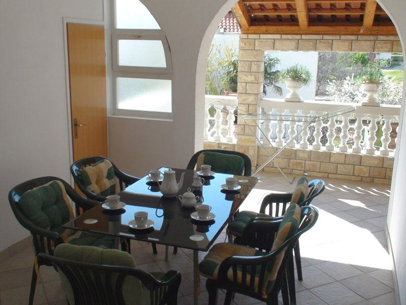 terrace - 3-bedrooms apartment near the beach - Vodice - rentals