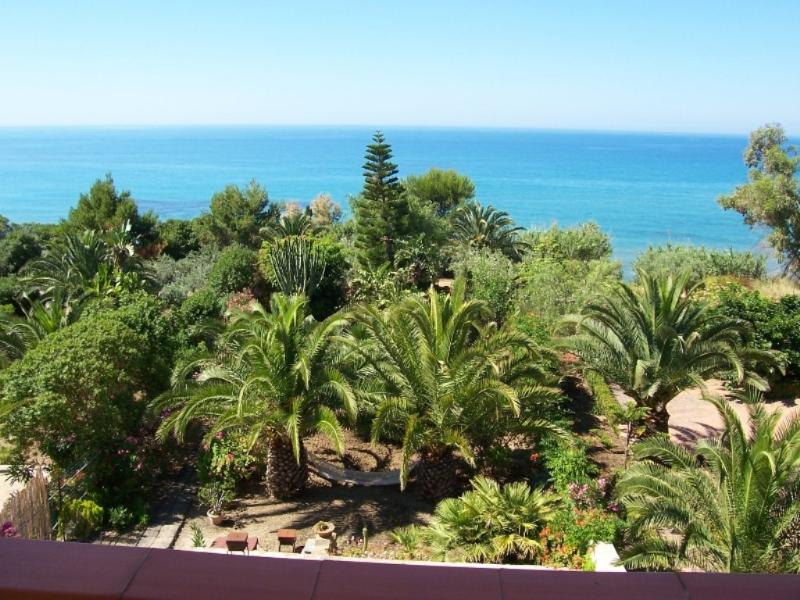 wiew from veranda first floor - Apartment beach front - Sciacca - rentals