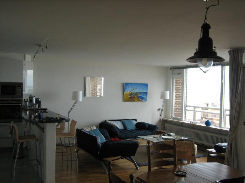 Kitchen;living and part of diningroom - Parallel flat 296 - Noordwijk - rentals