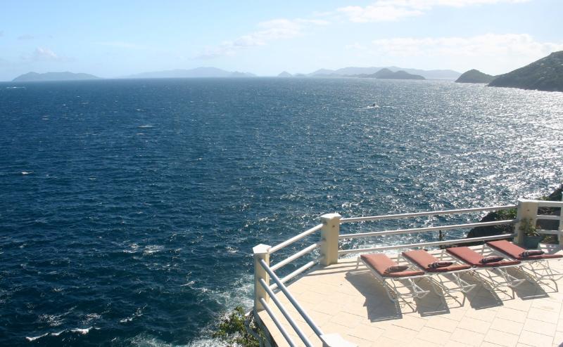 Oceanfront w/ Pool - Three Palms Villa - Image 1 - Saint Thomas - rentals