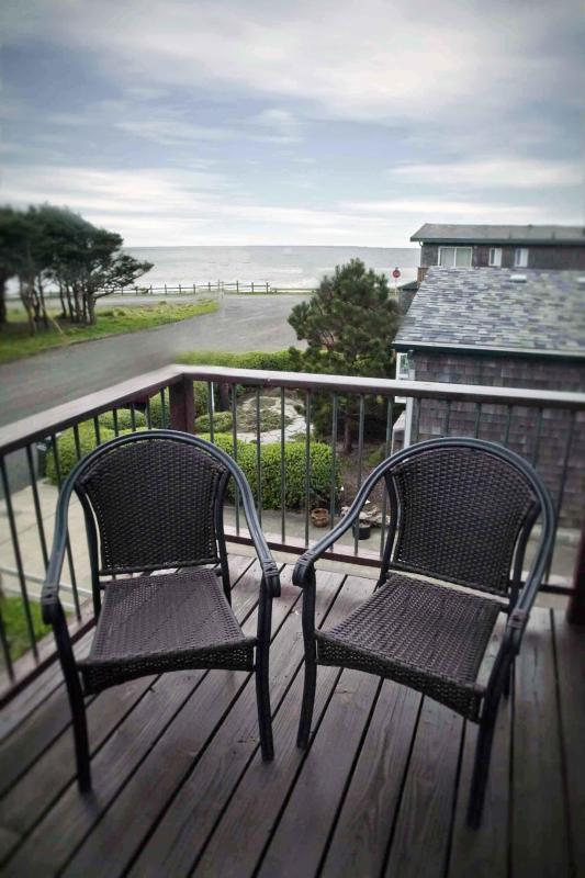 View From the Deck - Modern Townhouse with Ocean View! - Yachats - rentals