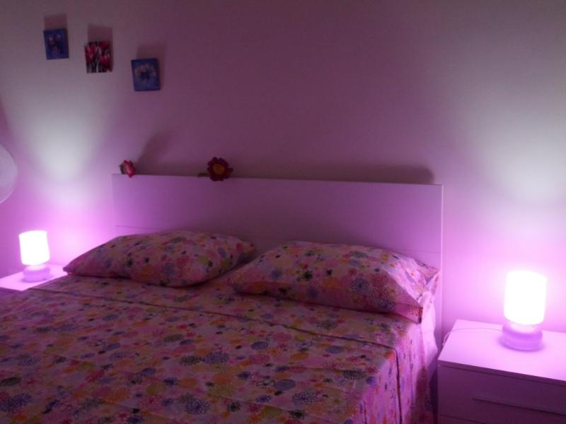 Pink bedroom  night - Holiday In Rome New-Centra-Romantic-Economic- - Rome - rentals