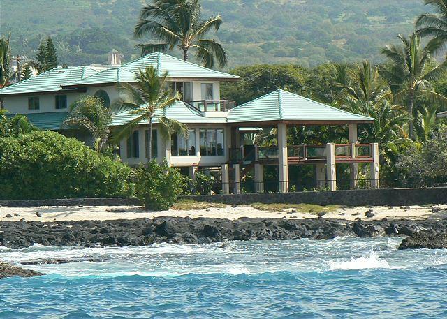 Ocean Front 3 bedroom, 2.5 bath Home in Kona Bay Estates, Vista Oceania-PHKBEOce - Image 1 - Kailua-Kona - rentals