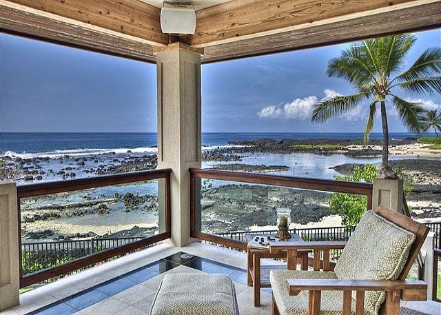 Unobstructed Ocean Views - Ocean Front 3 bedroom, 2.5 bath Home in Kona Bay Estates, Vista Oceania-PHKBEOce - Kailua-Kona - rentals