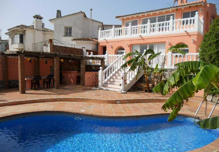 View from pool - Villa with pool near Puerto Banus & golf courses - Malaga - rentals
