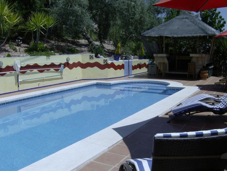 Pool and Gazebo - La Casita - Villanueva De Algaidas - rentals