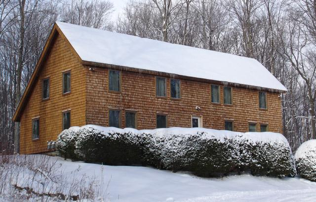 The house in winter - The Cabin at Killington: Whole Home - Killington - rentals