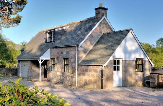 Faunoran Cottage - front view - Faunoran Cottage - Crathie - Ballater - rentals