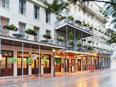Front Entrance from Decatur - 2013 New Orleans Essence Fest - Club La Pension - New Orleans - rentals