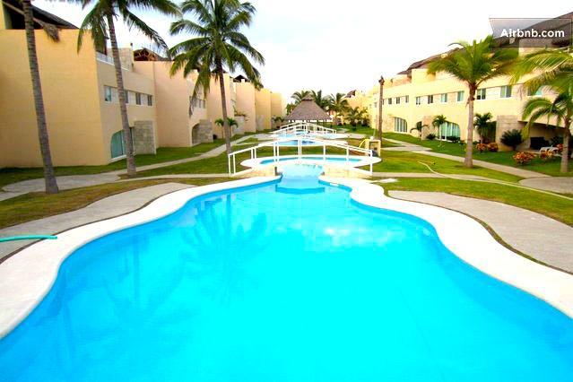 Fully Furnished 3 Bed 3 Bath Condo Next to La Isla - Image 1 - Acapulco - rentals