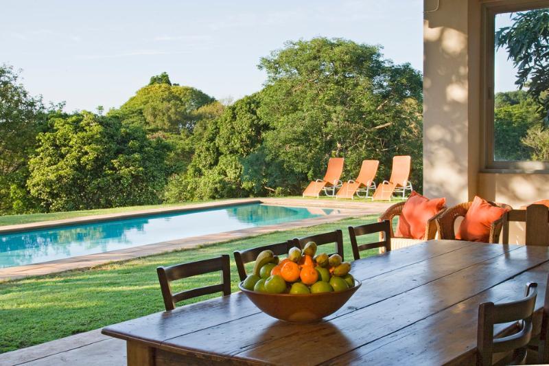 Verandah and Swimming Pool - NGOYE LODGE, MTUNZINI - Mtunzini - rentals