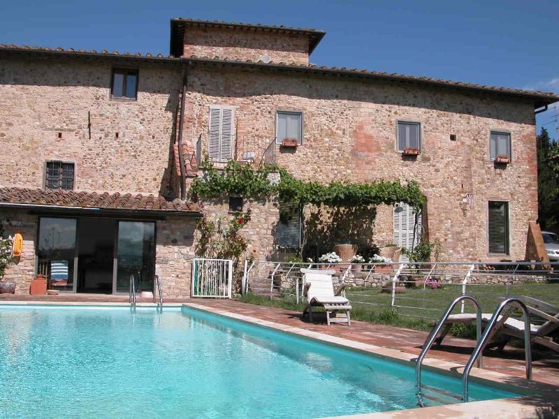 The house & pool - Casa I Muricci - Tavarnelle Val di Pesa - rentals