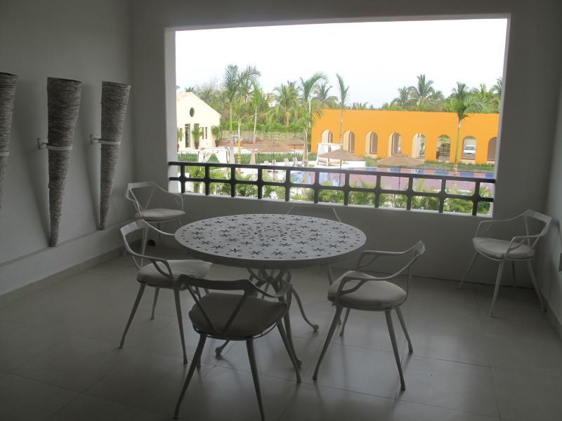 Large private deck. - Luxury 2 BR 2 BA on the El Tigre golf course. - Nuevo Vallarta - rentals