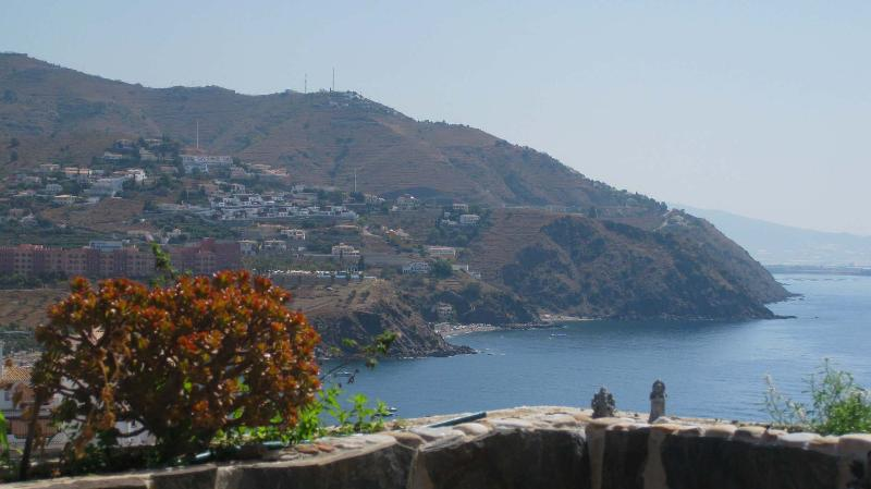 View from terrace - Holiday apartment Almunecar, WiFi, pool, terrace - Almunecar - rentals