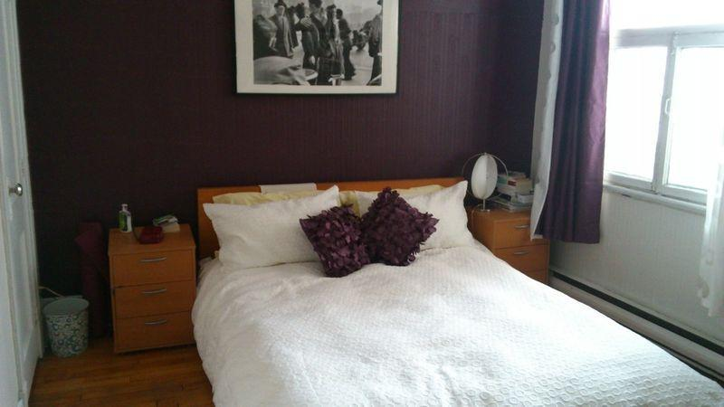 Bedroom #1 - 2 rooms in the heart of Plateau Mont-Royal - Montreal - rentals