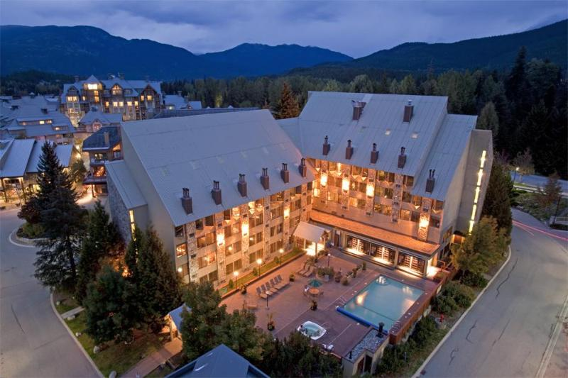 Aerial view - Whistler Village - Mountainside Lodge Studio Suite - Whistler - rentals