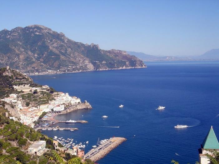 Casa Floreal. Huge sea view terrace over Amalfi - Image 1 - Amalfi - rentals
