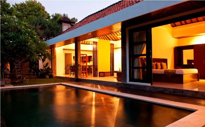 Pool at night - 3 Bedroom Villa with private pool in Seminyak - Seminyak - rentals