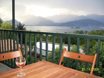 Balcony and view - Lago Maggiore Apartment with views - Stresa - rentals