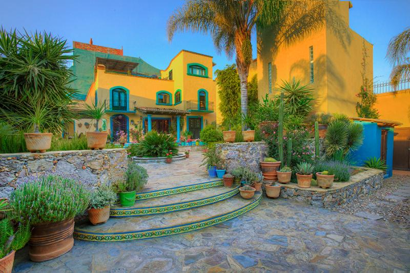 main house from 2nd patio - Take a look at this Gem - San Miguel de Allende - rentals