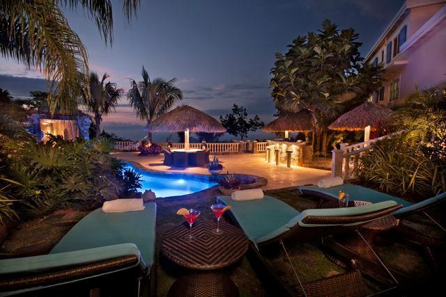 Villa Bijoux Bleu~Paradise Found! New Luxury Villa, Tropical Oasis, Lagoon Pool, Waterfalls - Image 1 - Saint Thomas - rentals