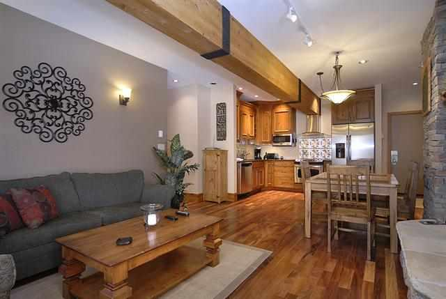 Comfortable seating by day, pullout by night... - Spectacular Sunsets! Slopeside! - 3 Bed/ 2 Bath - Crested Butte - rentals