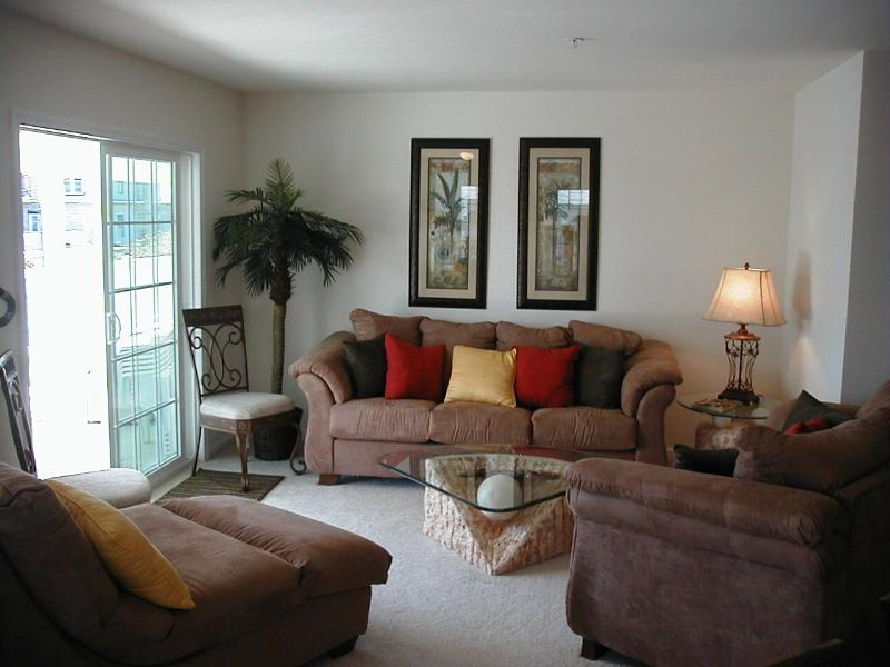 Spacious Living Room - Caribean Style Condo NWW 3BR 2BA - North Wildwood - rentals