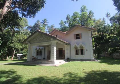 Front View of the Villa - A wonderful Villa on the best surfing area - Mirissa - rentals
