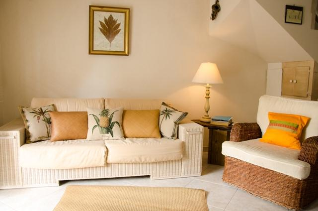 Comforting living room - Ajoupa 4, West Coast of Barbados, Sea View, Pool - Saint James - rentals