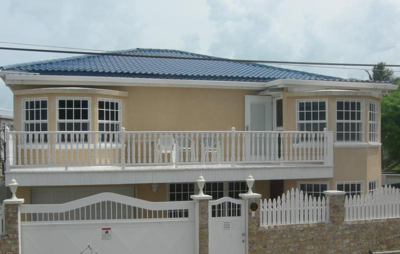 Front view of the home - Casa Fabro - Belize City Vacation Home Rental - Belize City - rentals