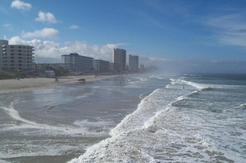 "Pirates Cove surrounding Ocean and beach - Affordable vacation rental at ""Pirates Cove"" condo - Daytona Beach - rentals"