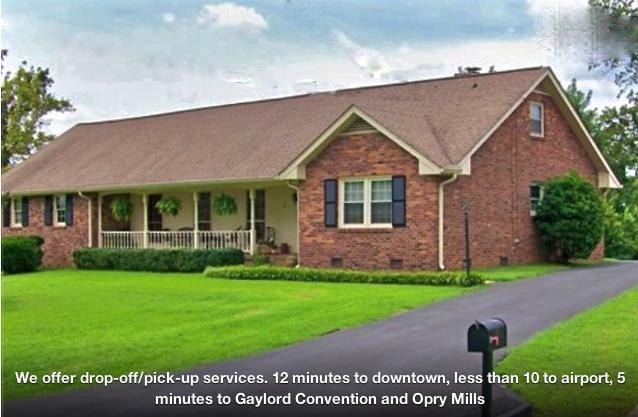 4 bedroom sleeps 8+ Airport/Downtown/Opry - Image 1 - Nashville - rentals