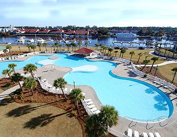 Largest Pool In N. Myrtle Beach - Harbour Cove Villa  2 B.R.  2 BA.  Barefoot Resor - North Myrtle Beach - rentals