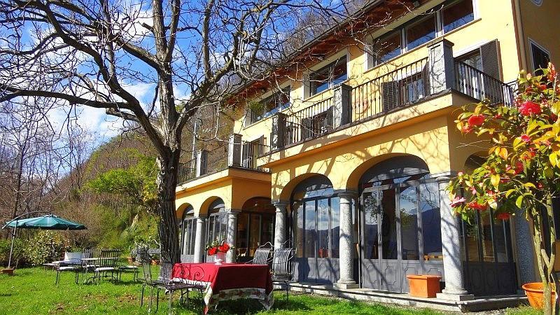Vacation villa Corconio for rent in Orta San Giulio at Lake Orta Italy - Sunlit villa with superb lake views - Orta San Giulio - rentals