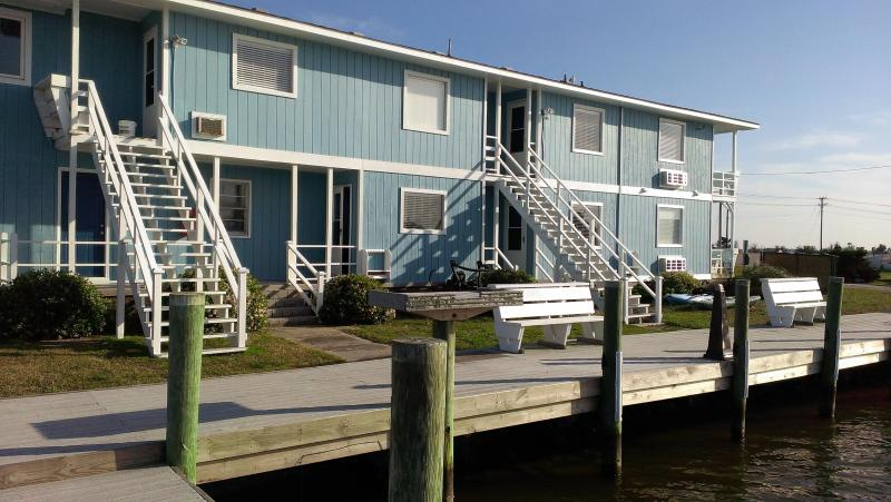Back Exterior of Inn - Fin 'N Feather 2 Bedroom Condo - Nags Head - rentals