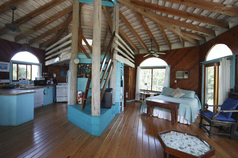 Round house interior - The Round house at Casuarina Bay - Governor's Harbour - rentals