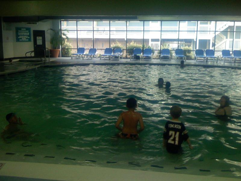 Indoor swim pool - Luxury Ocean Front Carousel 2 bed, 2 bath condo - Ocean City - rentals