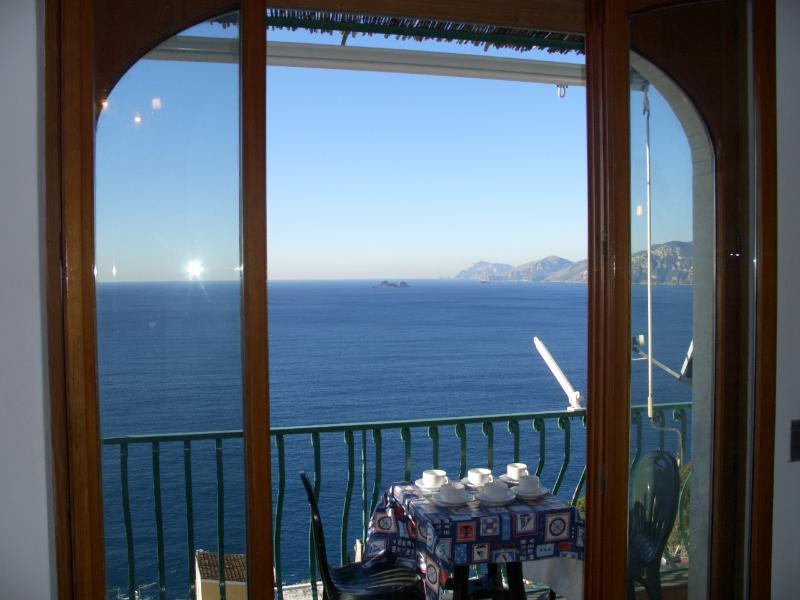 Casa Praiano Villa with view Amalfi coast, walk to town villa in Praiano Amalfi, private holiday rental Amalfi coast, holiday amalfi - Image 1 - Praiano - rentals