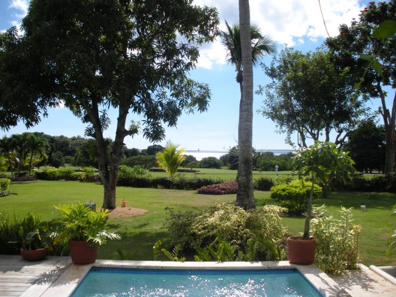 View to the first tee - Golf Villa First Fairway on Teeth of the Dog - La Romana - rentals
