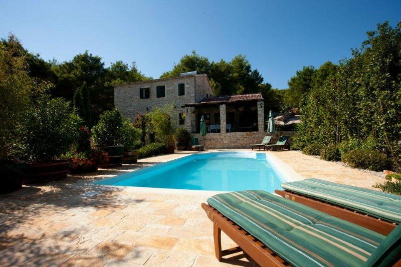 Authentic Croatian Luxury Villa with Private Pool - Image 1 - Pasman Island - rentals