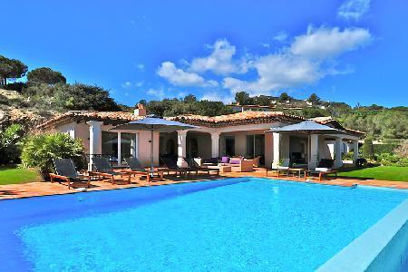 Supreme La Reserve-Villa 5, with luxury kitchen, sea views and private garden - Image 1 - Ramatuelle - rentals
