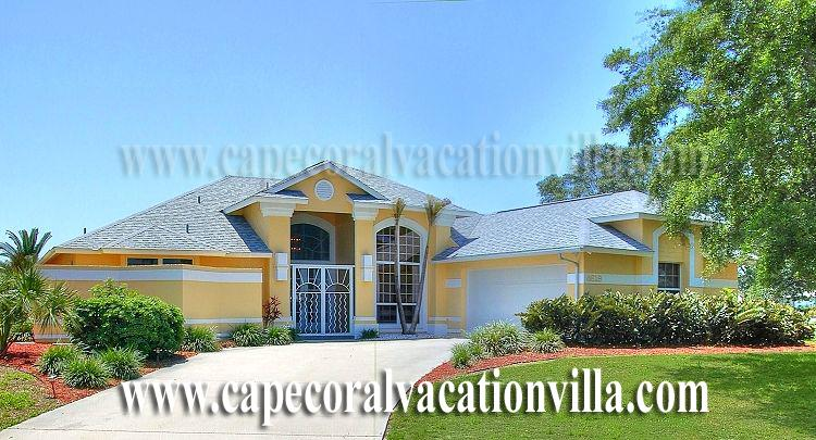 Front - Villa On The Sands - Cape Coral - rentals