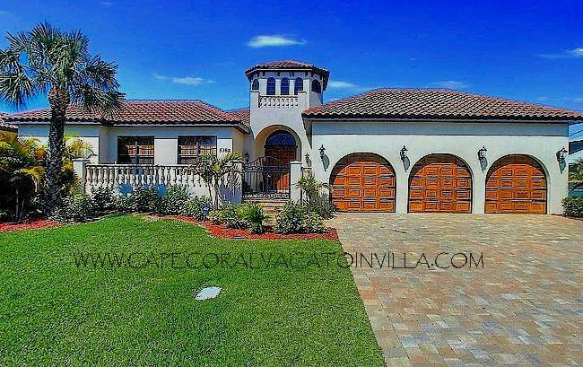 Front - Villa Bellagio - Cape Coral - rentals
