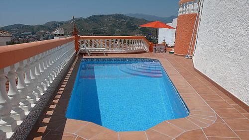 Pool - Villa del Sol with fantastic sea view and Pool! - Almunecar - rentals