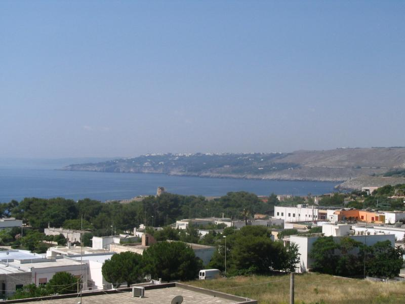 vista mare dalla veranda - Appartamento Archi Santa Cesarea Terme - Santa Cesarea Terme - rentals