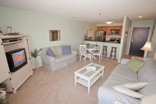 Living Area - Playa Rana Unit #312 - Virginia Beach - rentals